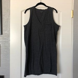 Madewell Dresses - Madewell V-Neck Pocket Tank Dress